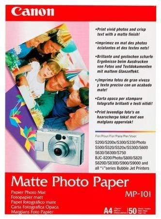 Papir PAPIR CANON MP-101 A4 50LIST MATT