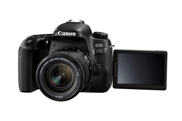 Fotoaparat EOS77D 18-55IS CANON