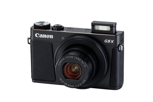 Fotoaparat G9X II ČRN CANON FOTOAPARAT