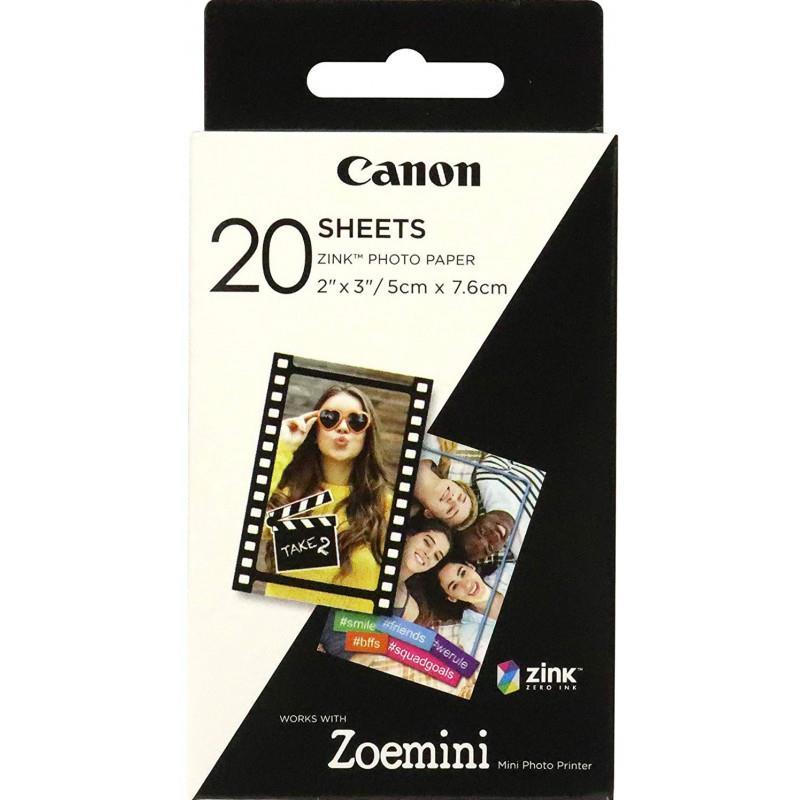 Pribor in dodatek ZINK FOTO 20 PACK PAPIR CANON