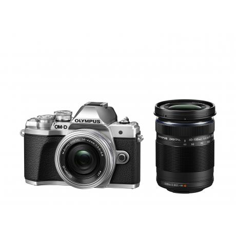 Sistemski fotoaparat EM10IIISR+14-42SR+40-150 OLYMPUS FOTOAPARAT DZ KIT