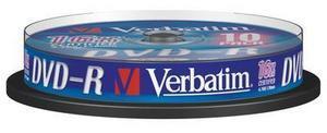 Dvd medij DVD-R 16X 10/1 CAKE VERBATIM