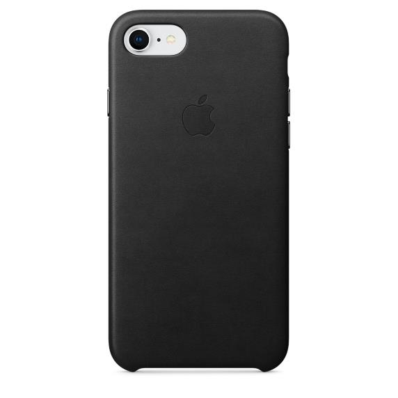 Torbice in ovitki IPHONE 8/7 LEATHER CASE APPLE CASE BLACK