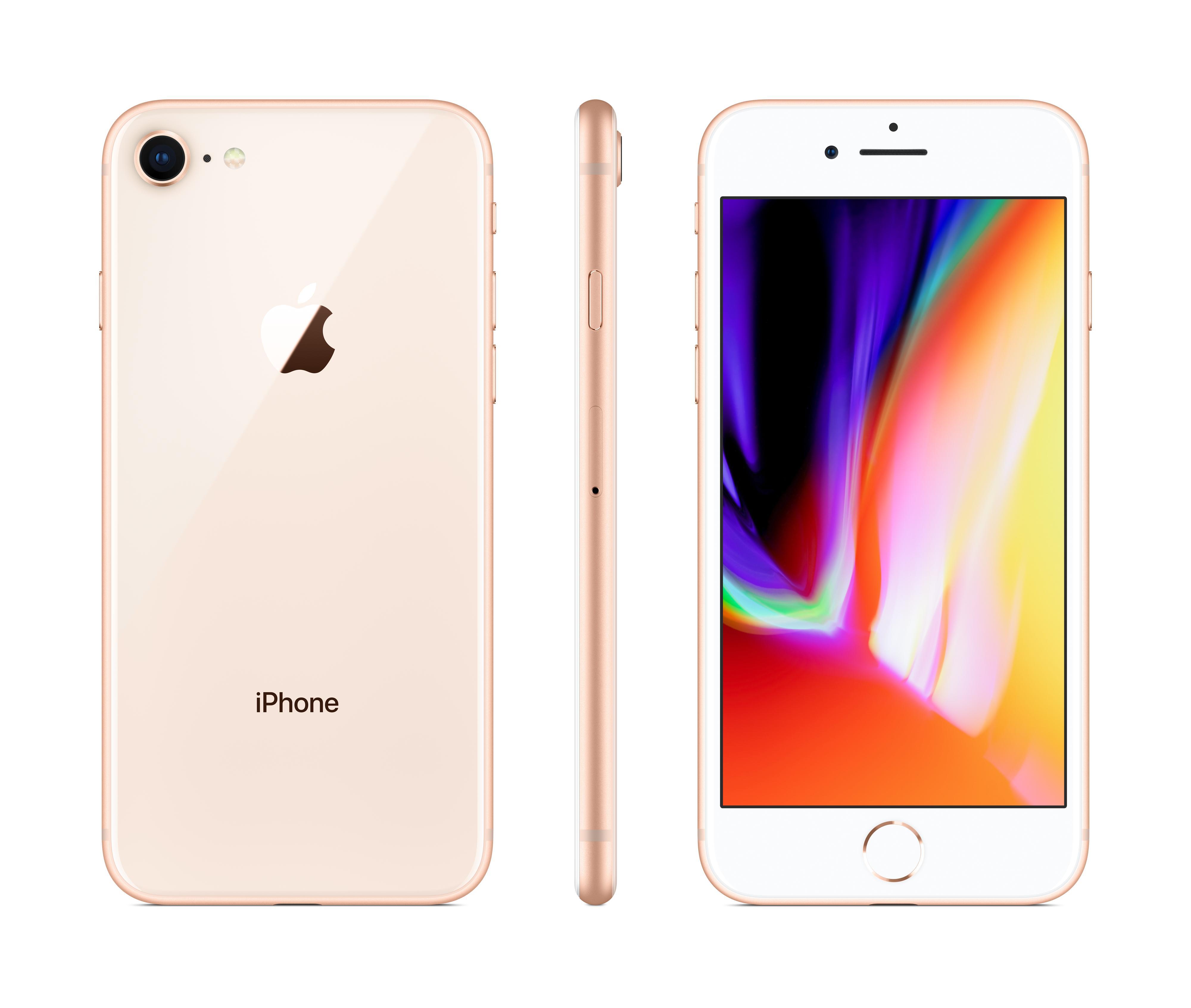 Pametni GSM telefon APPLE IPHONE 8 128GB GOLD