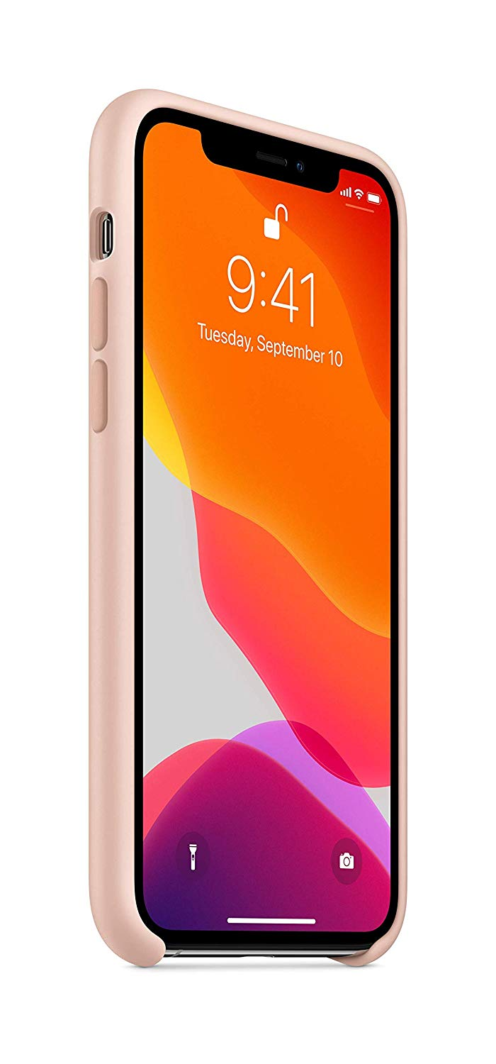 Torbice in ovitki APPLE IPHONE 11 PRO SILICONE CASE - PINK SAND