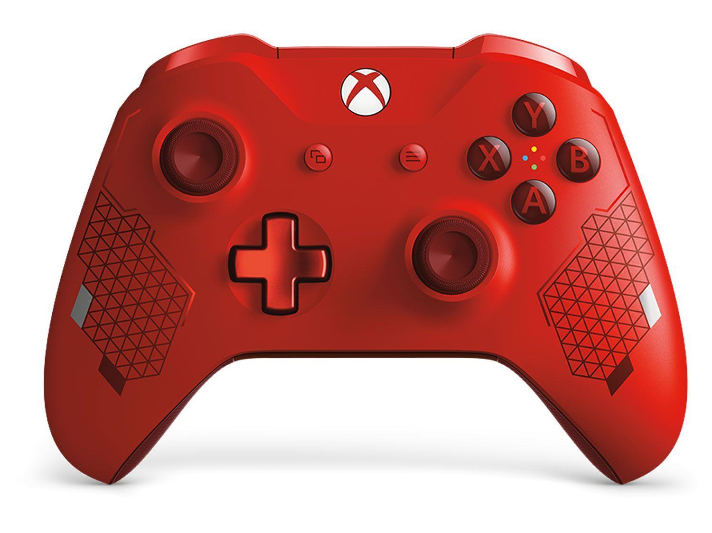 Igralni dodatek MICROSOFT XBOX ONE WIREL. CONTROLLER SPORT RED