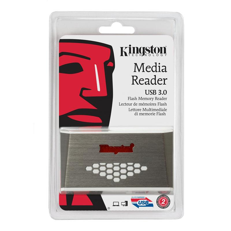 Čitalec spominskih kartic FCR-HS4 MEDIA READER KINGSTON USB 3.0