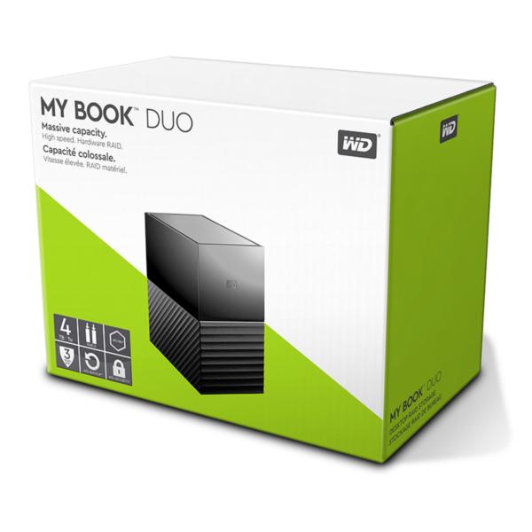 Zunanji trdi diski 4TB MY BOOK DUO USB-C 3.1 WD