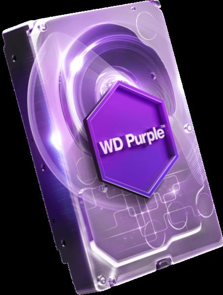 Trdi disk 6TB SATA 3 64MB AV PURPLE 6TB SATA 3 64MB AV PURPLE