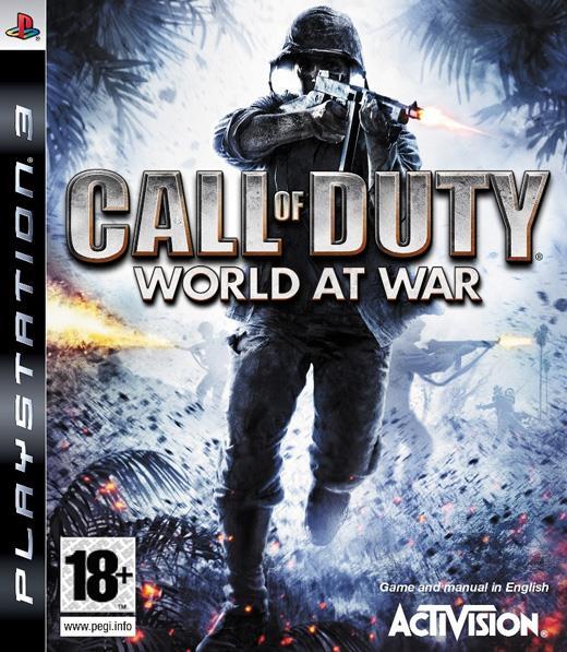 Igra CALL OF DUTY WORLD AT WAR PS3 PLATINUM