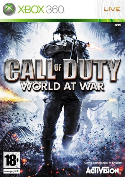 Igra CALL OF DUTY WORLD AT WAR XBOX360 IGRA
