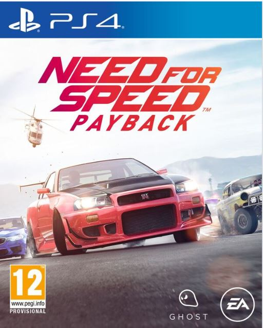 Igra NEED FOR SPEED PAYBACK PS4