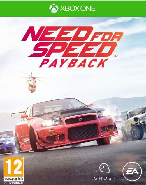 Igra NEED FOR SPEED PAYBACK XBOX ONE