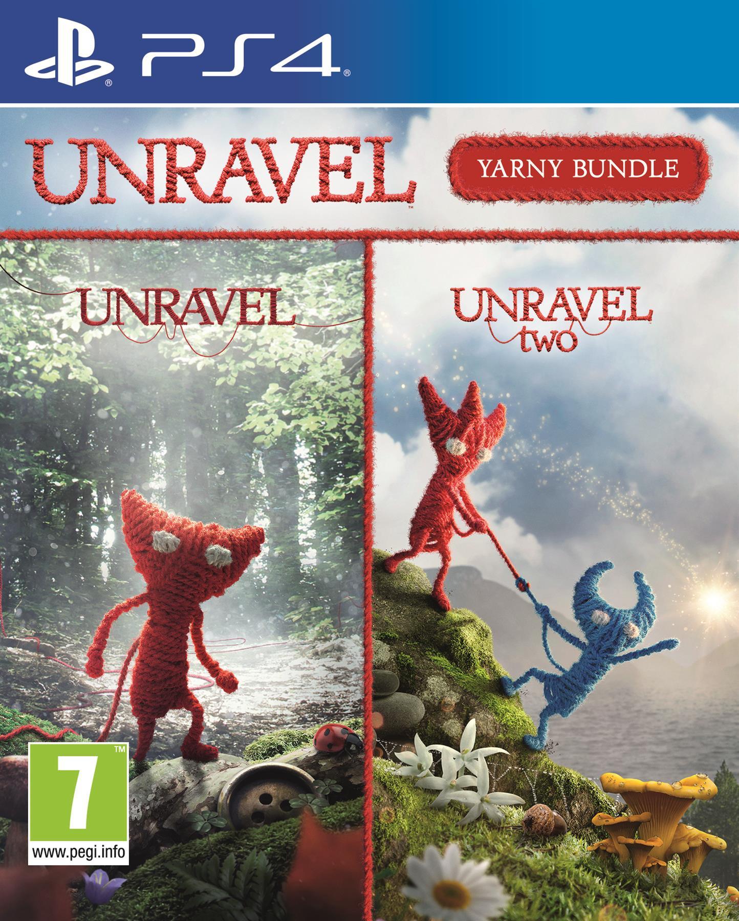 Igra UNRAVEL YARNY BUNDLE PS4
