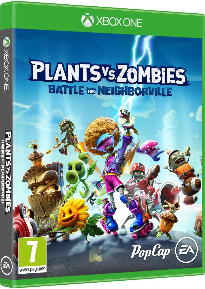 Igra PLANTS VS. ZOMBIES BATTLE FOR NEIGHBORVILLE