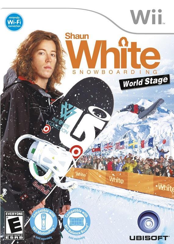 Igra SHAUN WHITE SNOW WORLD WII IGRA
