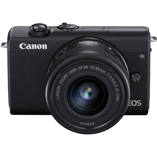 Sistemski fotoaparat EOS M200 15-45 ČRN CANON F3.5-6.3 IS STM