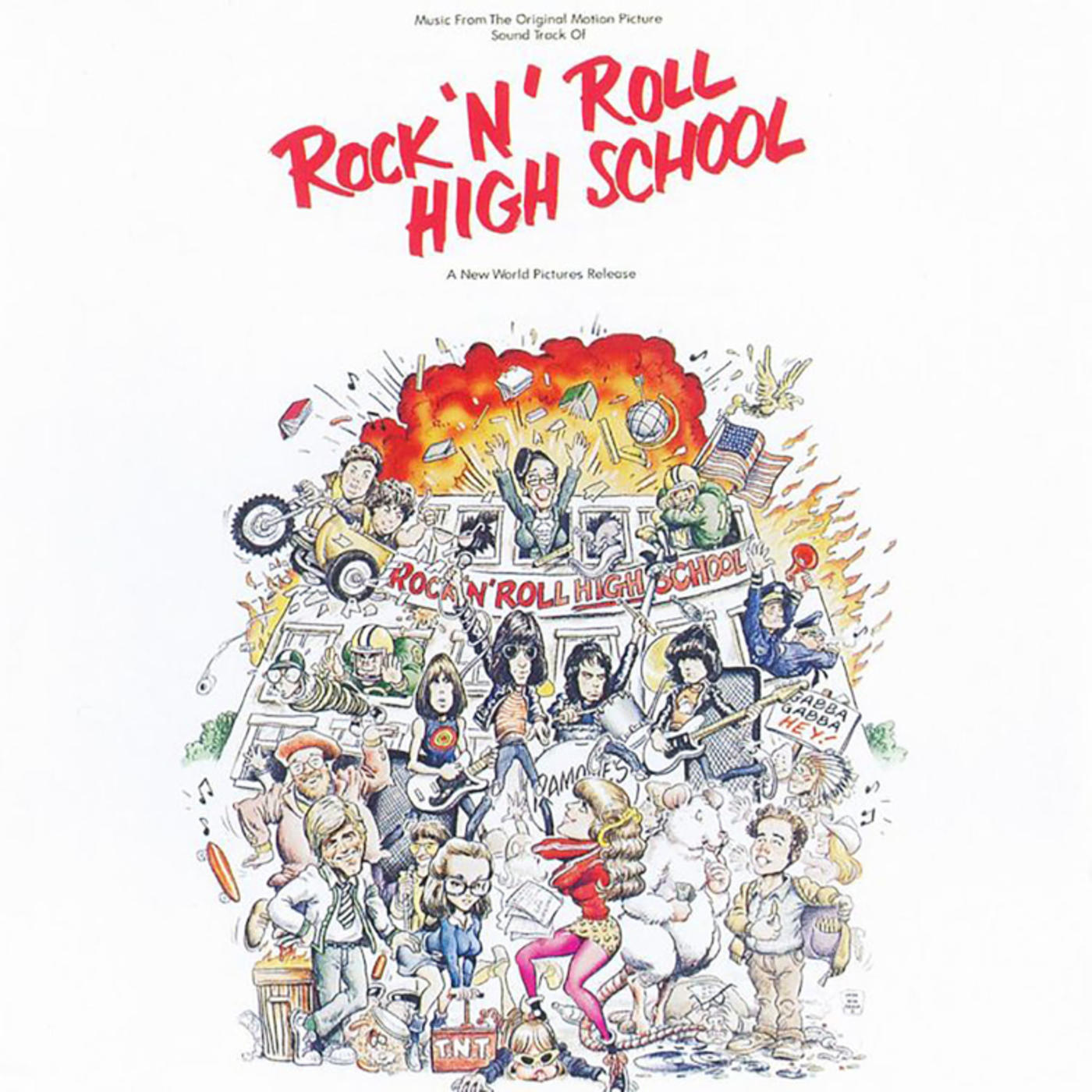 Lp plošča ROCK'N'ROLL HIGH SCHOOL - O.S.T.