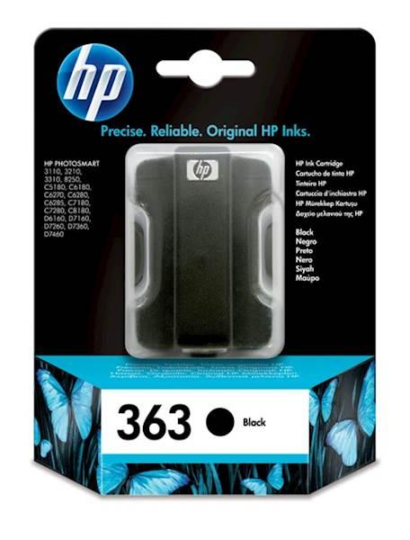 Toner/črnilo HP363 C8721 ČRNA 6ML HP
