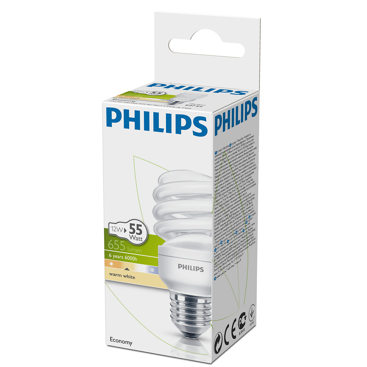 Žarnica ECO TWIST 12W E27 SPIRAL PHILIPS