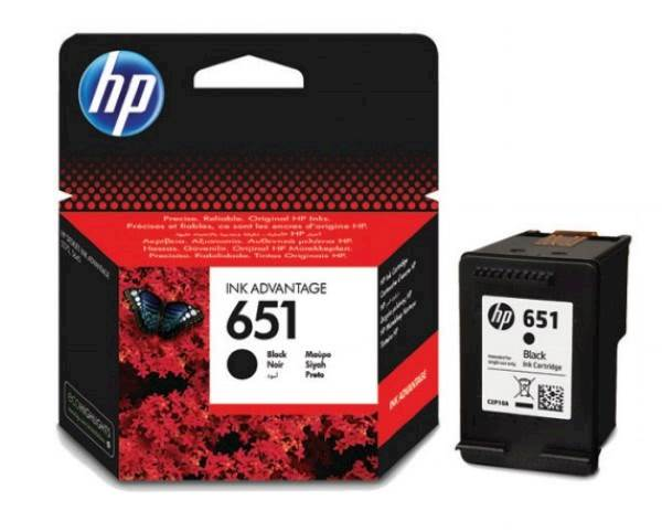 Toner/črnilo HP 651 BLACK INK CARTRIDG HP