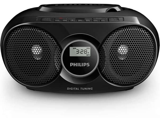 Prenosni radio AZ318B PRENOSNI RADIO S CD PREDVAJALNIKOM