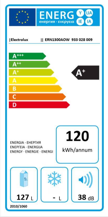 Hladilnik ERN1300AOW HLADILNIK ELECTROLUX