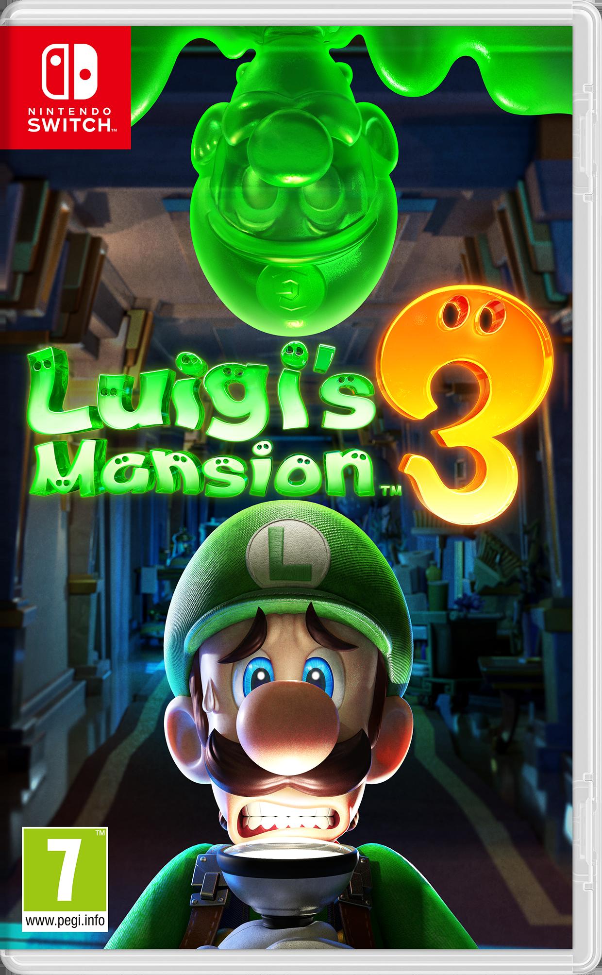 Igra LUIGI'S MANSION 3 NS