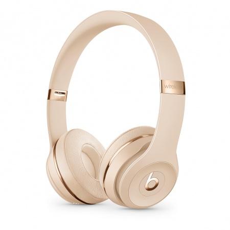 Slušalke SOLO3 WIRELESS SATIN GOLD BEATS BY DR DRE